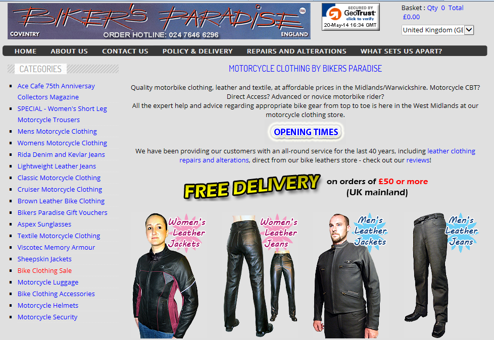 Bikers Paradise - Open Bikers Paradise in a new page