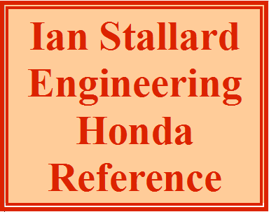 Ian Stallard Engineering - Honda Reference