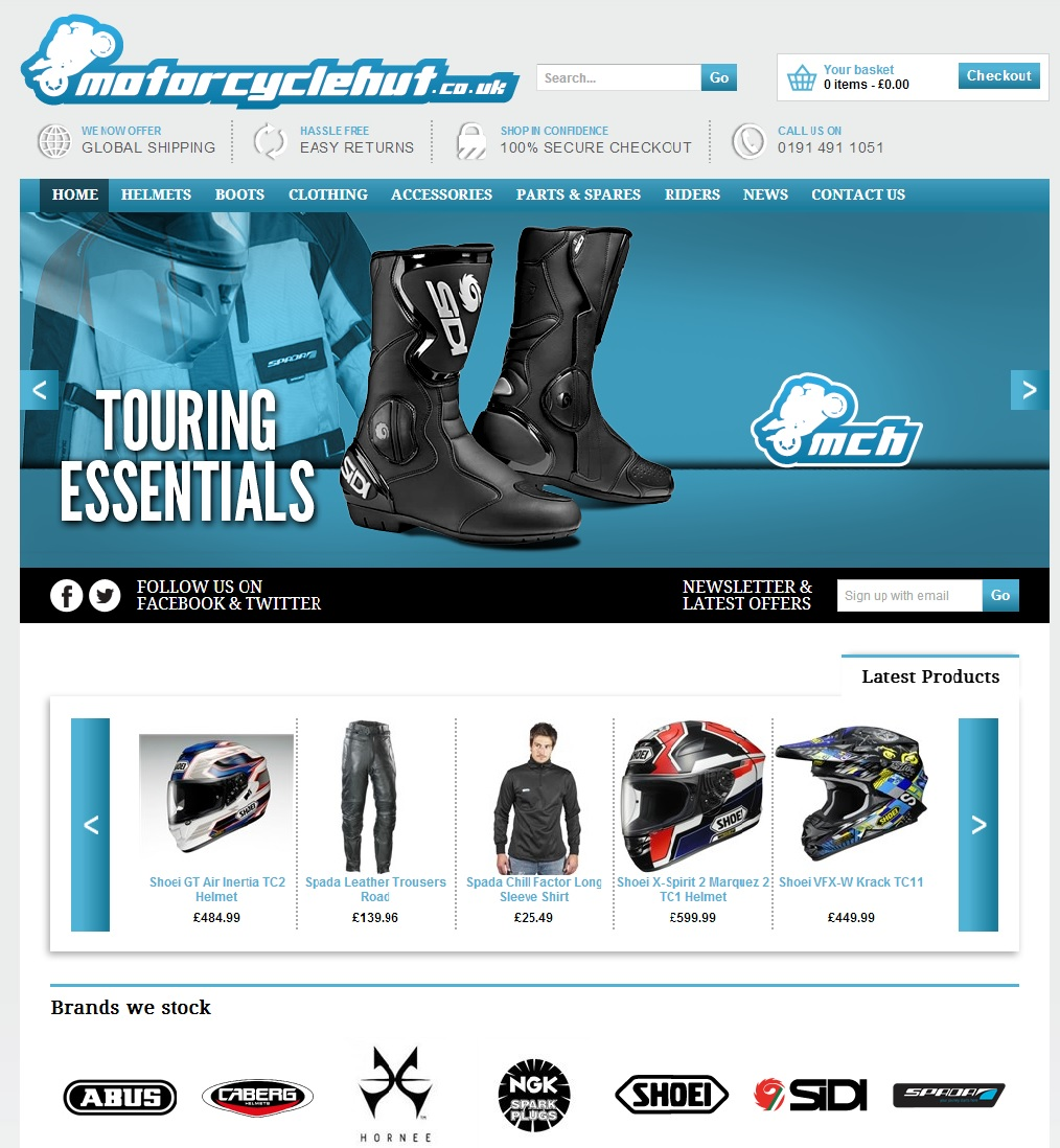 Go To - Motorcycle Hut Accessories