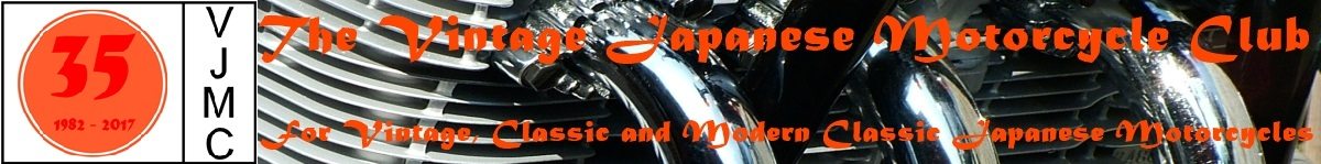 The Vintage Japanese Motorcycle Club for Vintage, Classic and Modern Classic Japanese Motorcycles